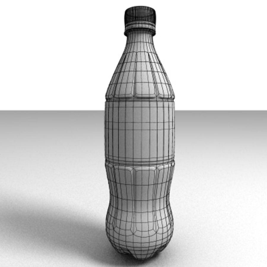 0.5 L Plastic Bottle royalty-free 3d model - Preview no. 2