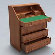 Desk old fashioned007.ZIP 3d model