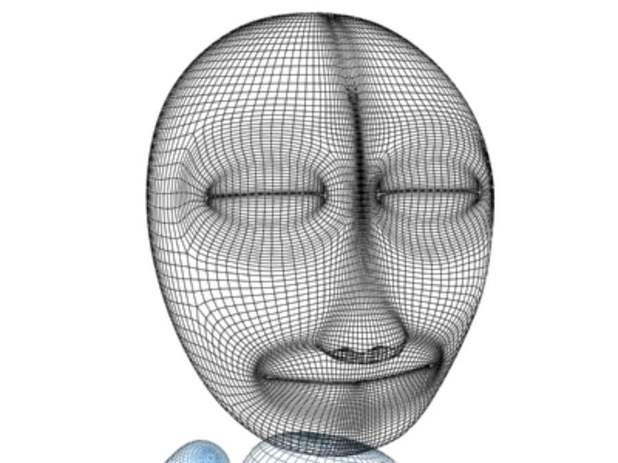 Personaggio dei cartoni animati royalty-free 3d model - Preview no. 6