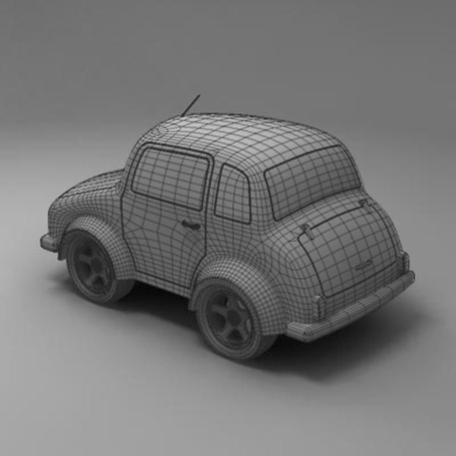 Toon Car royalty-free 3d model - Preview no. 12