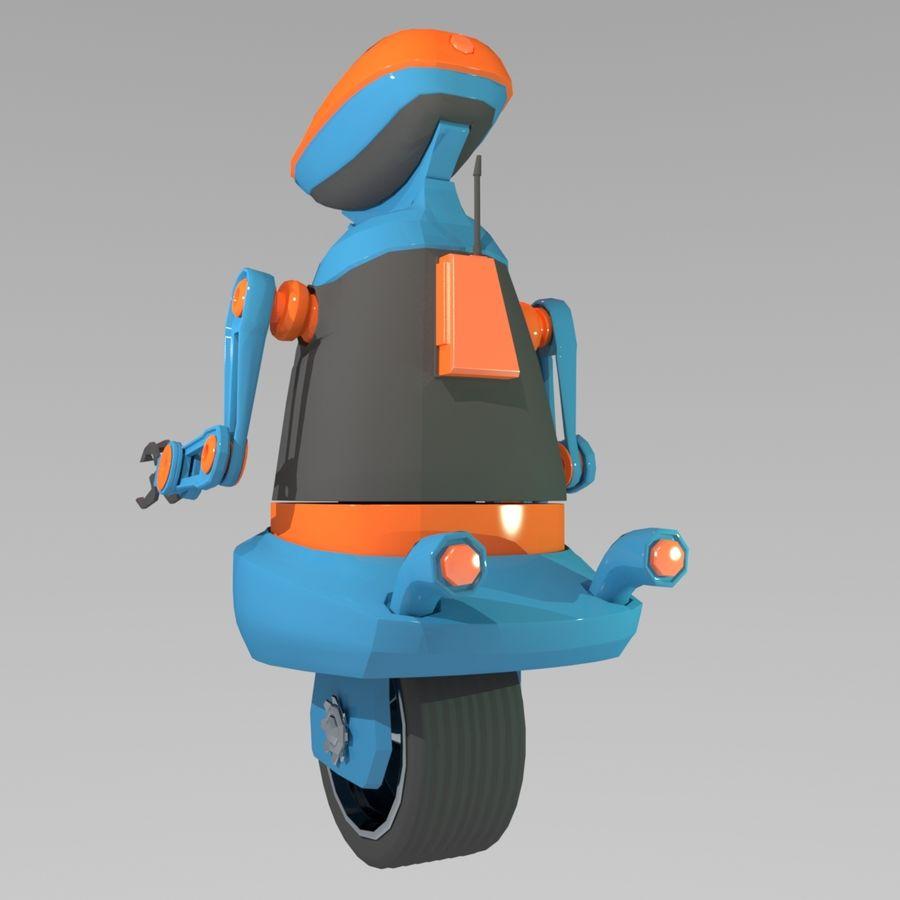 Robot Model 1 royalty-free 3d model - Preview no. 5