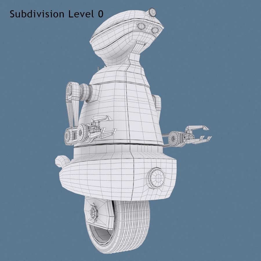 Robot Model 1 royalty-free 3d model - Preview no. 9