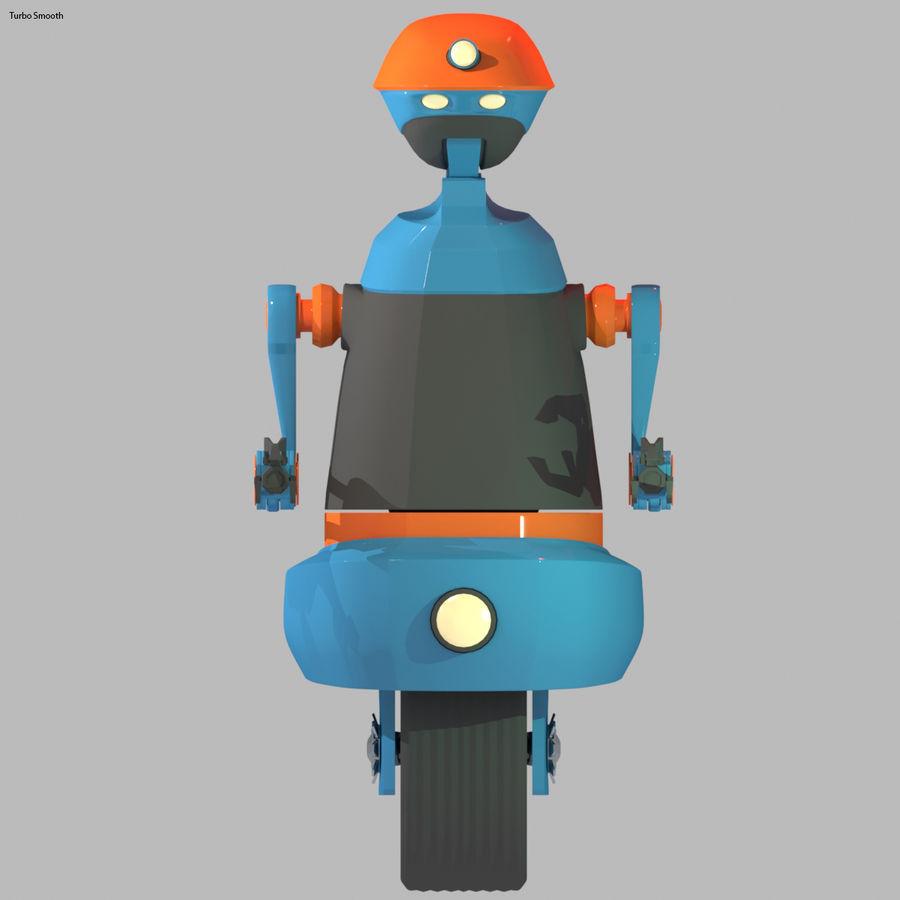 Robot Model 1 royalty-free 3d model - Preview no. 6