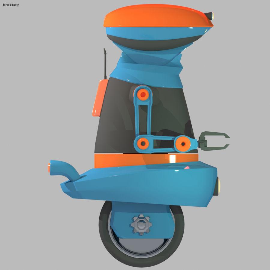 Robot Model 1 royalty-free 3d model - Preview no. 8