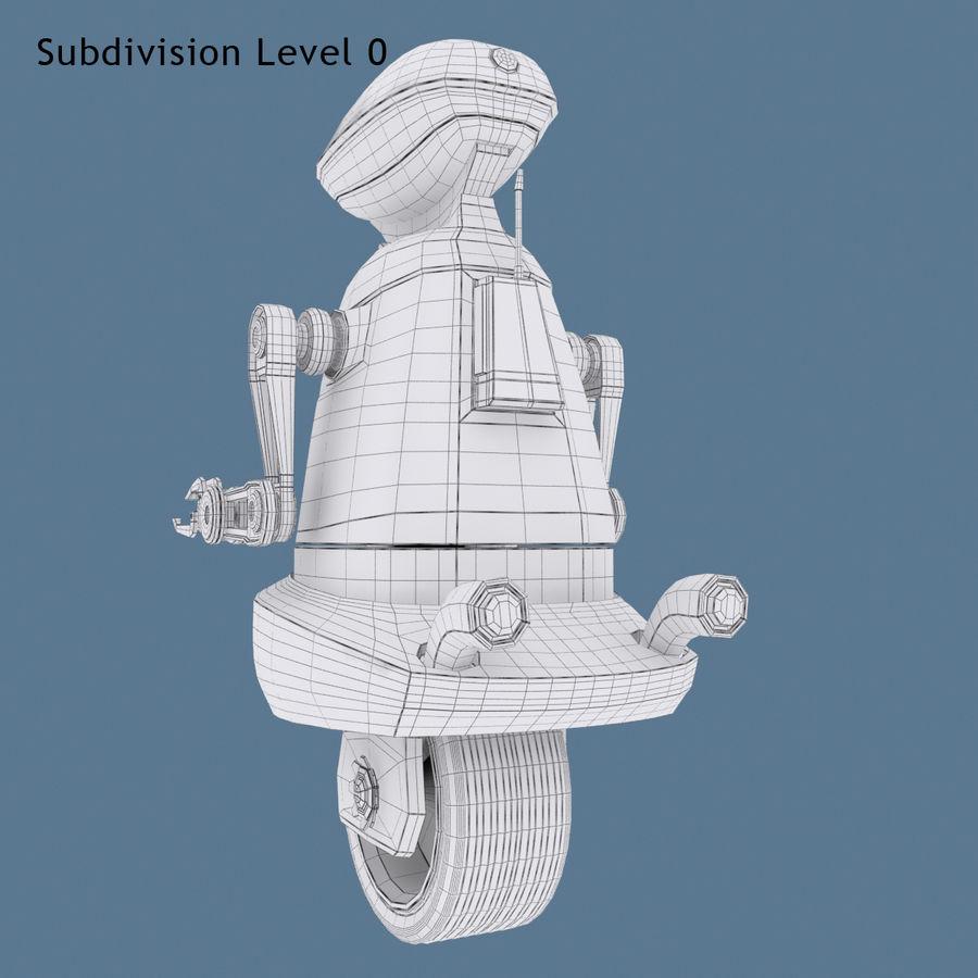 Robot Model 1 royalty-free 3d model - Preview no. 11