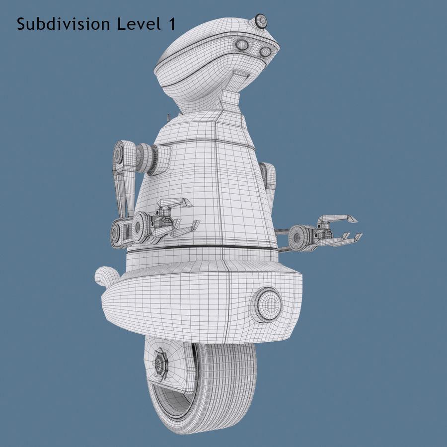 Robot Model 1 royalty-free 3d model - Preview no. 10
