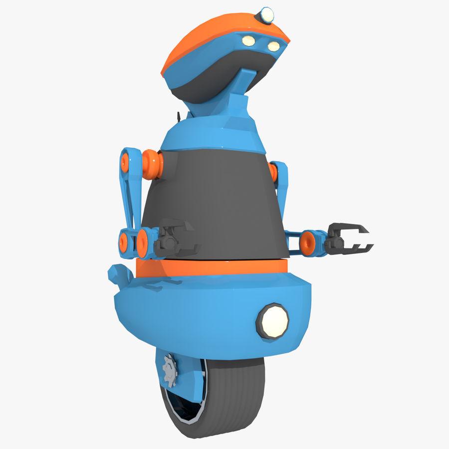 Robot Model 1 royalty-free 3d model - Preview no. 1