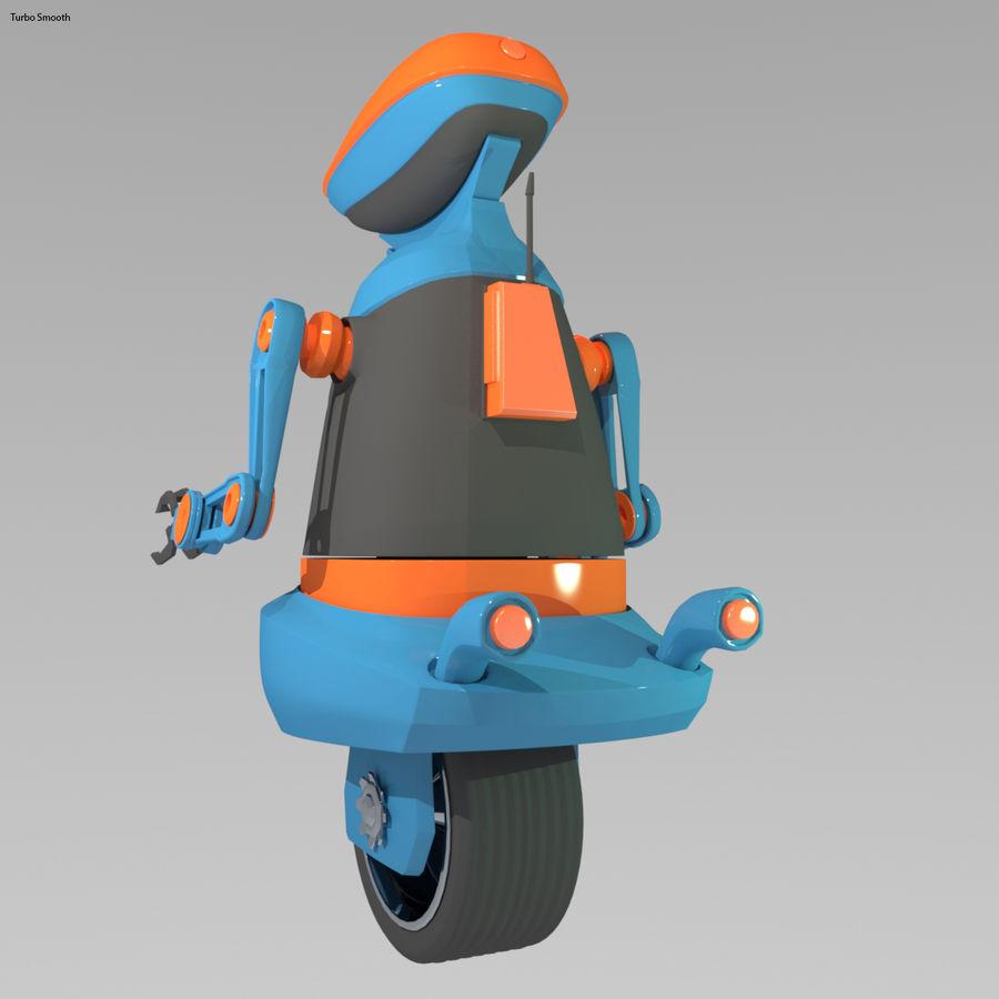 Robot Model 1 royalty-free 3d model - Preview no. 4