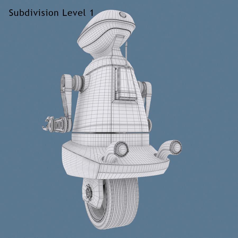 Robot Model 1 royalty-free 3d model - Preview no. 12