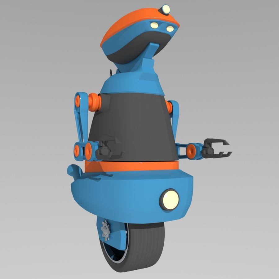 Robot Model 1 royalty-free 3d model - Preview no. 3