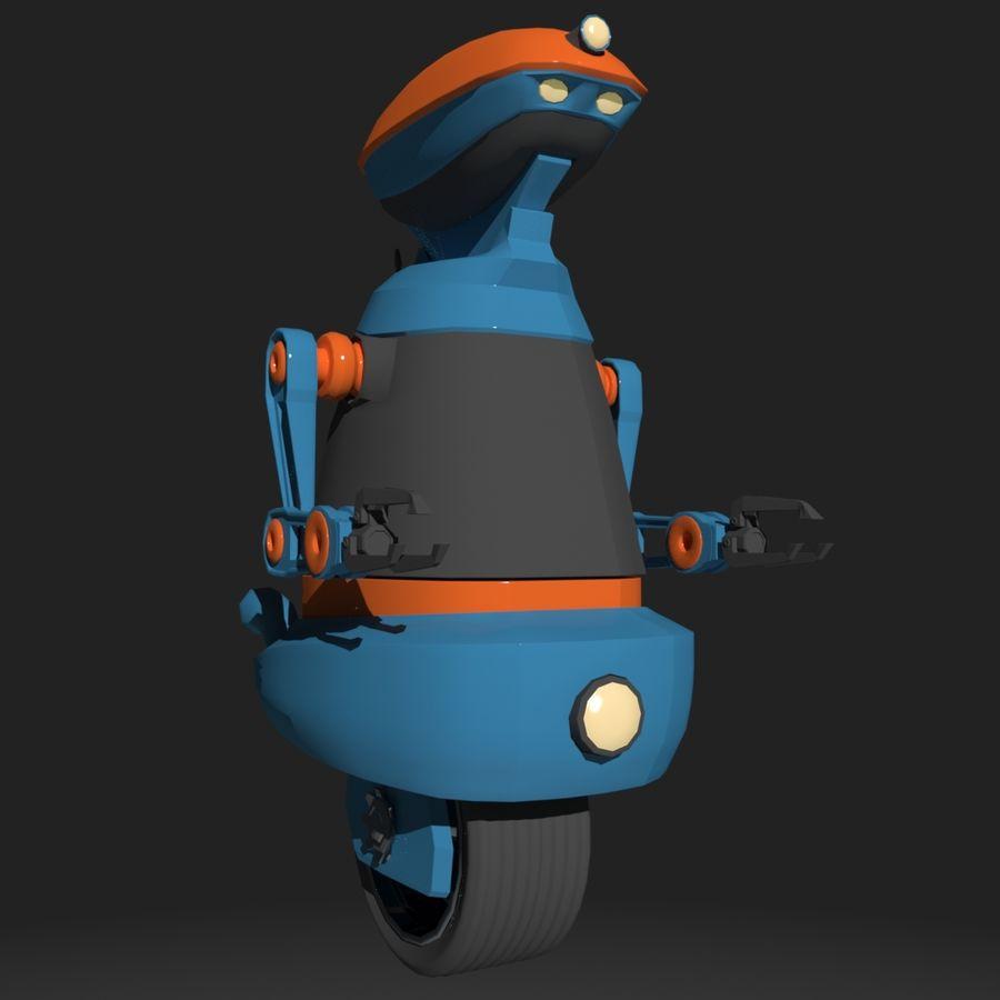 Robot Model 1 royalty-free 3d model - Preview no. 2