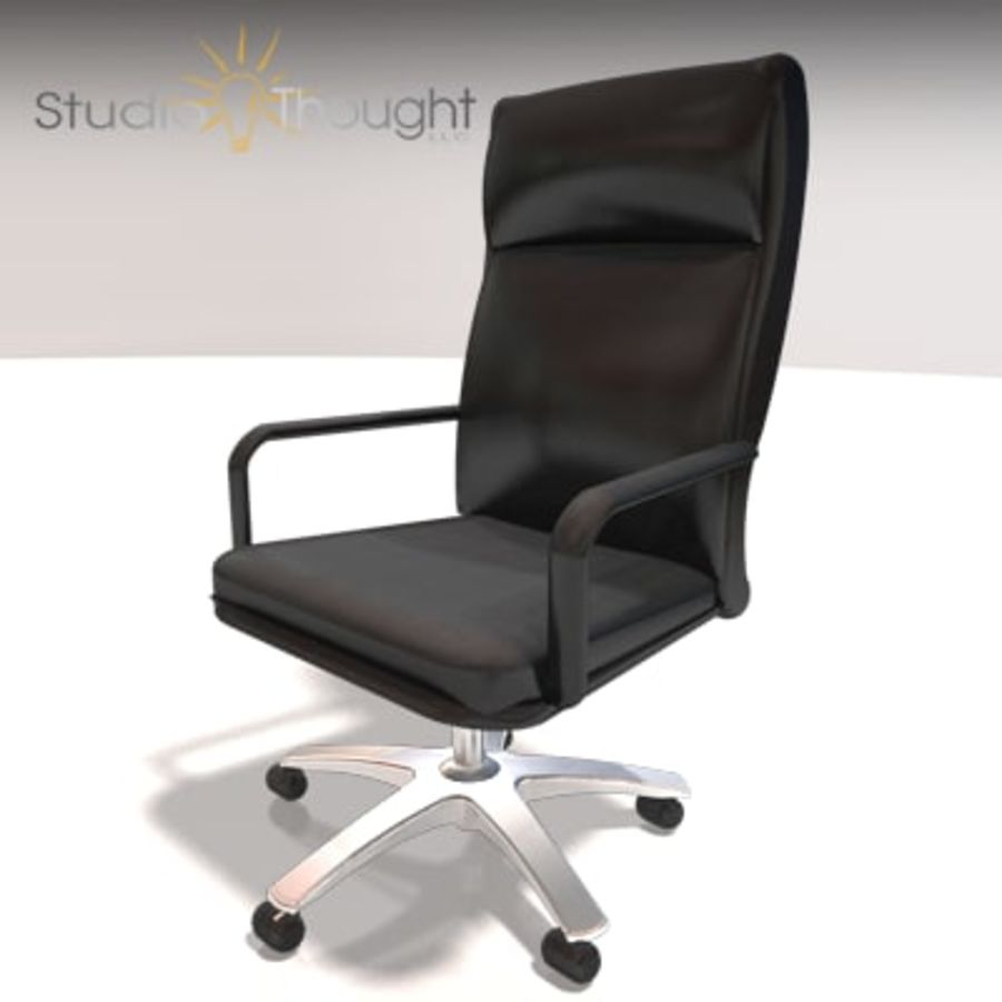 Conference Room Table/ Chairs - Architectural interior royalty-free 3d model - Preview no. 6