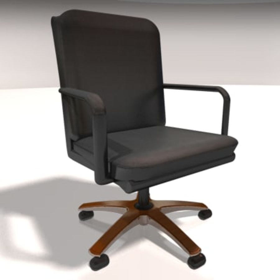 Conference Room Table/ Chairs - Architectural interior royalty-free 3d model - Preview no. 4