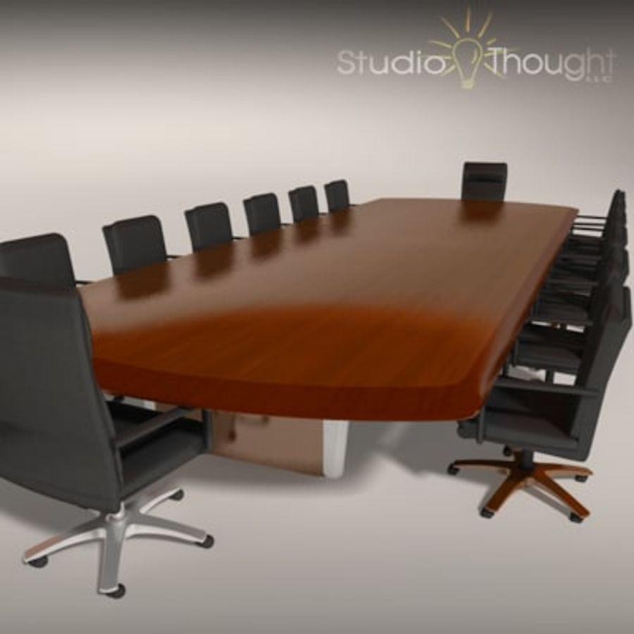 Sala conferenze Tavolo / Sedie - Interni architettonici ...
