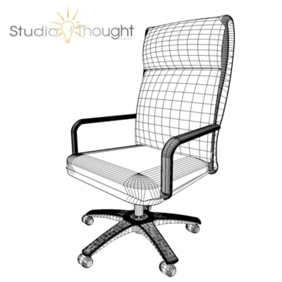 Conference Room Table/ Chairs - Architectural interior royalty-free 3d model - Preview no. 7