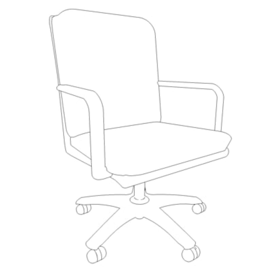Conference Room Table/ Chairs - Architectural interior royalty-free 3d model - Preview no. 5