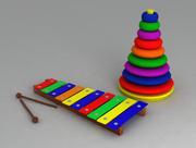 Baby leksaksuppsättning 3d model