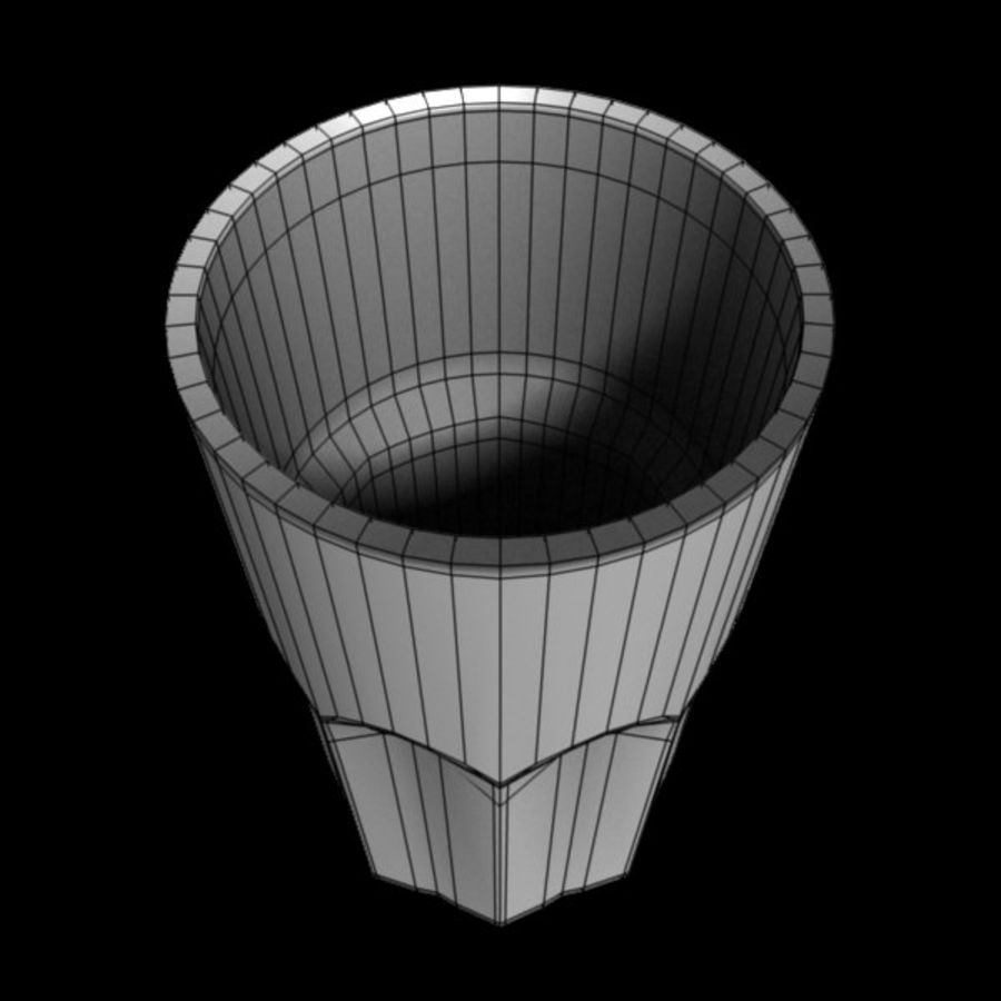 Glas royalty-free 3d model - Preview no. 6