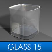 Glass 15 3d model