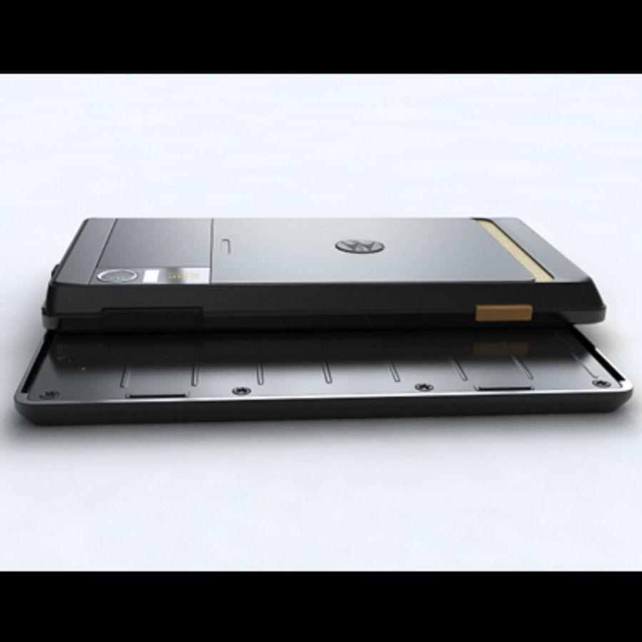 Motorola Milestone royalty-free 3d model - Preview no. 17