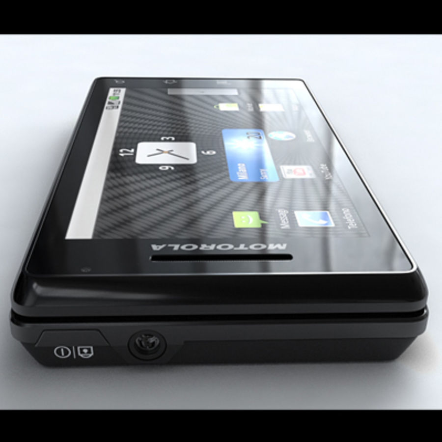 Motorola Milestone royalty-free 3d model - Preview no. 11