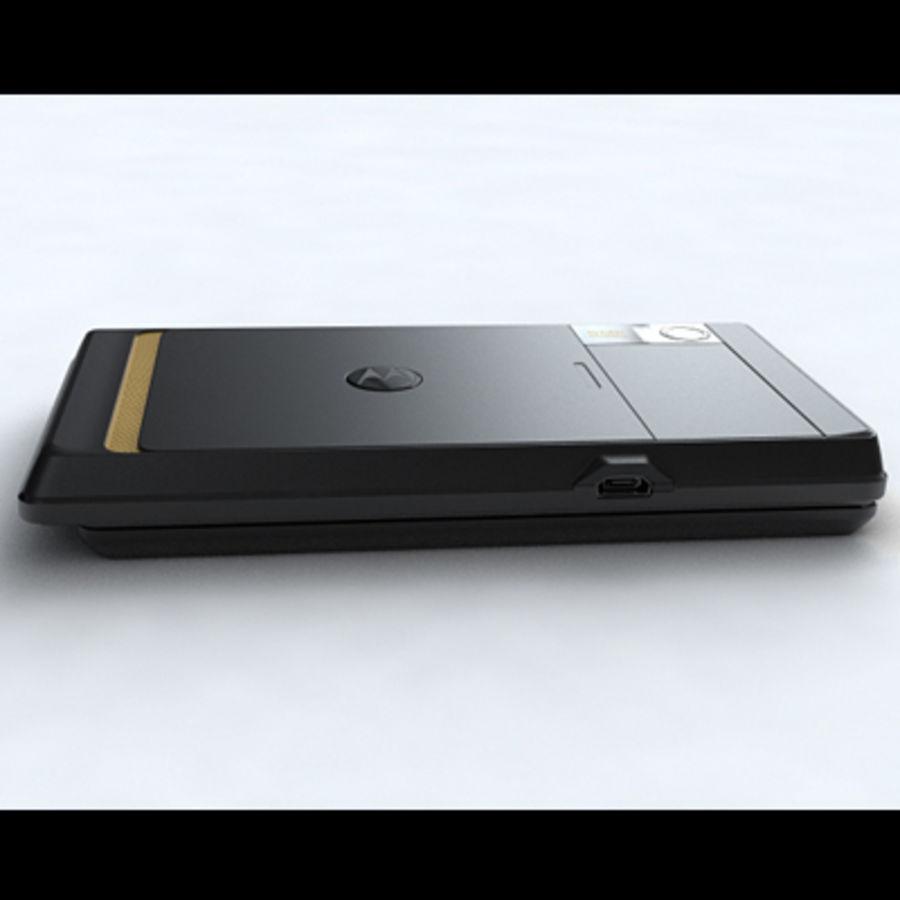 Motorola Milestone royalty-free 3d model - Preview no. 24