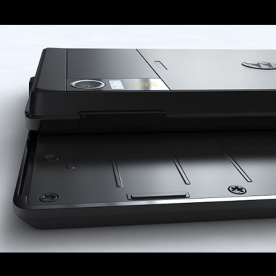 Motorola Milestone royalty-free 3d model - Preview no. 29