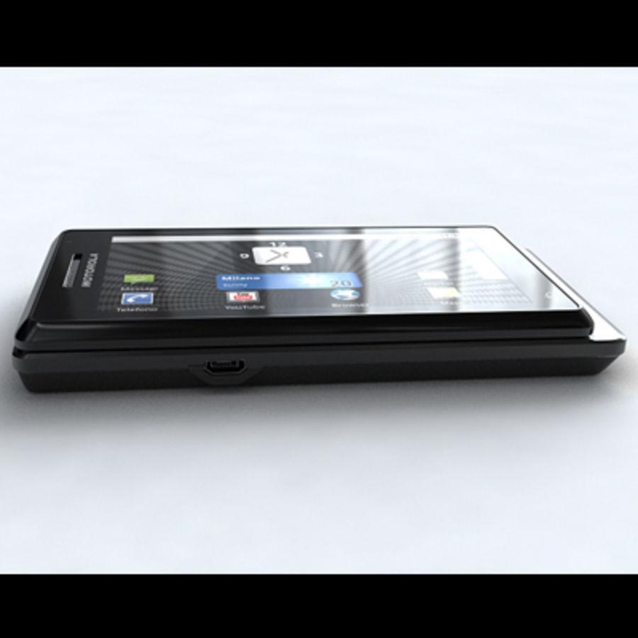 Motorola Milestone royalty-free 3d model - Preview no. 12