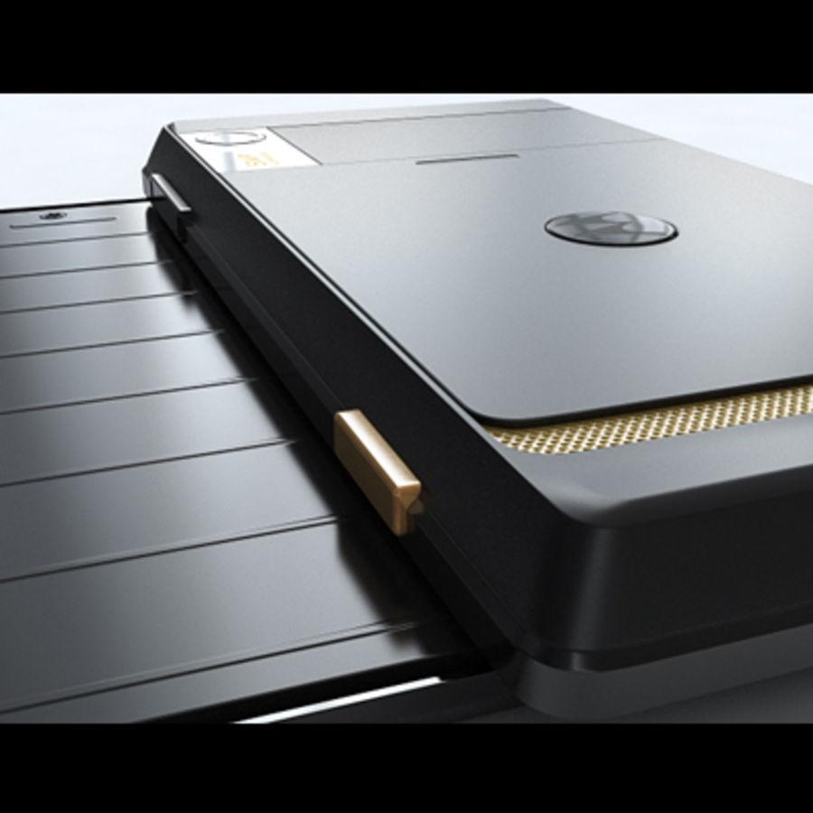 Motorola Milestone royalty-free 3d model - Preview no. 30
