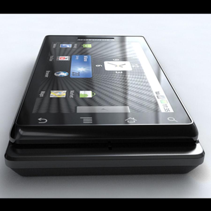 Motorola Milestone royalty-free 3d model - Preview no. 10