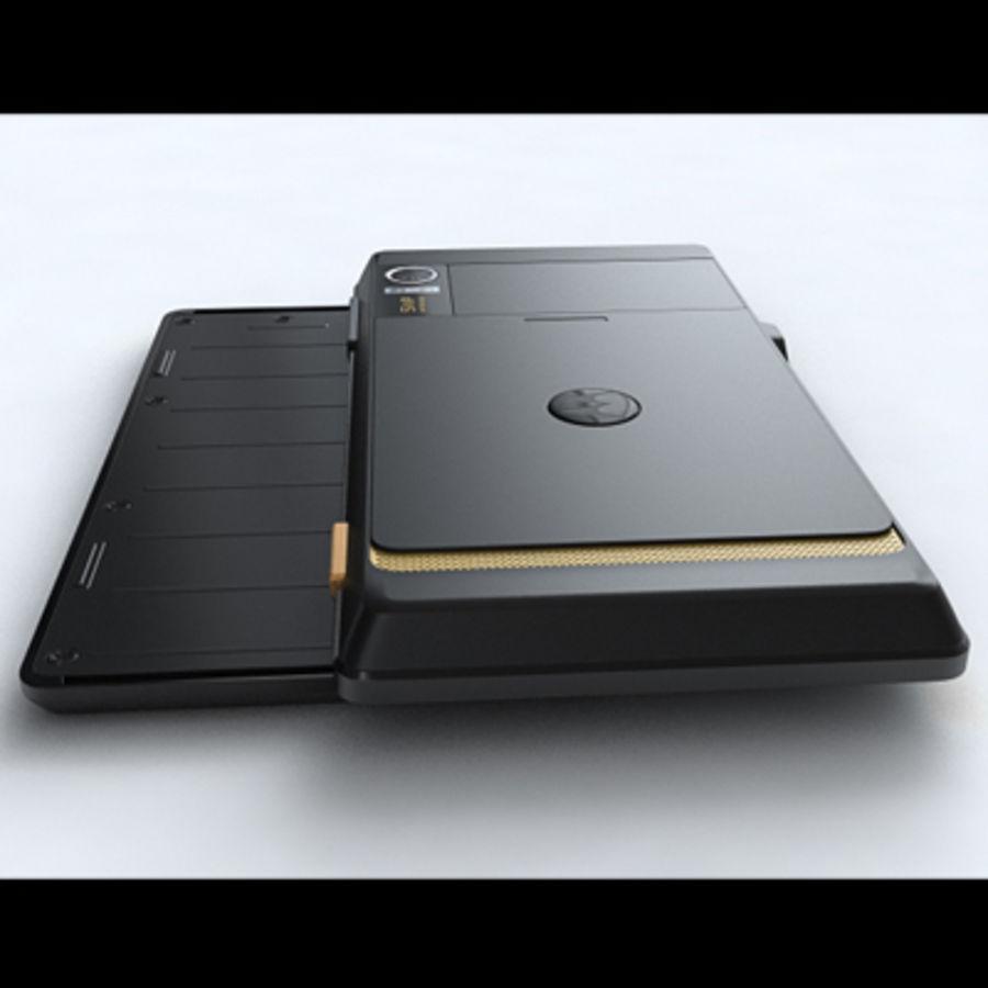 Motorola Milestone royalty-free 3d model - Preview no. 15
