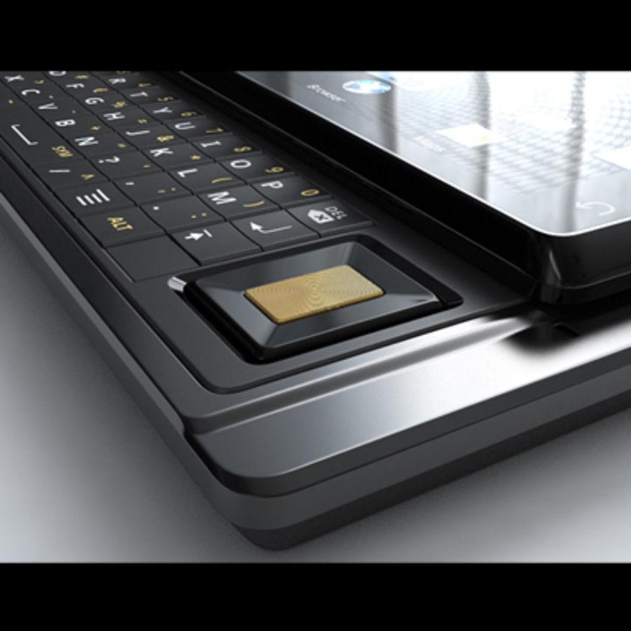 Motorola Milestone royalty-free 3d model - Preview no. 26