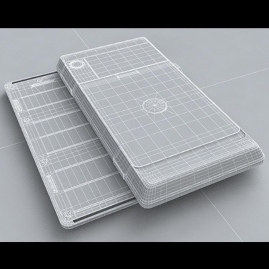 Motorola Milestone royalty-free 3d model - Preview no. 34