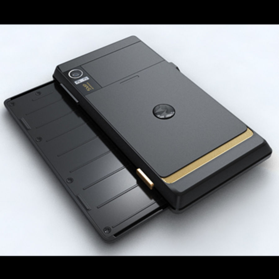 Motorola Milestone royalty-free 3d model - Preview no. 13