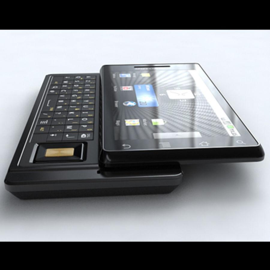 Motorola Milestone royalty-free 3d model - Preview no. 3