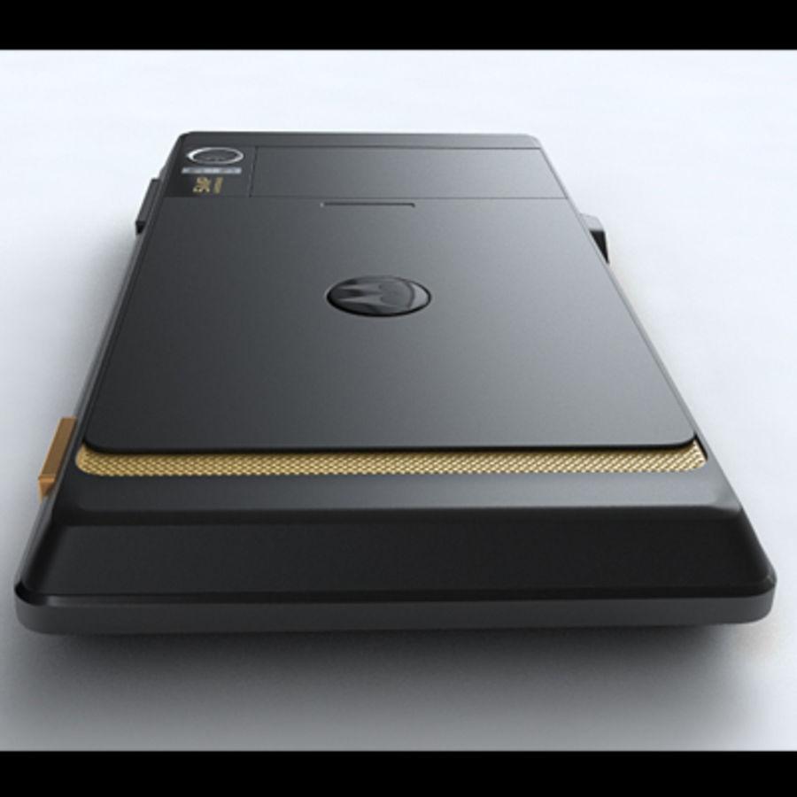 Motorola Milestone royalty-free 3d model - Preview no. 21