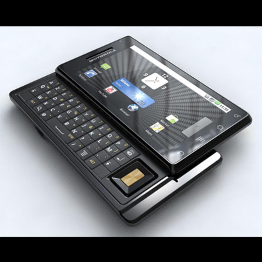 Motorola Milestone royalty-free 3d model - Preview no. 1