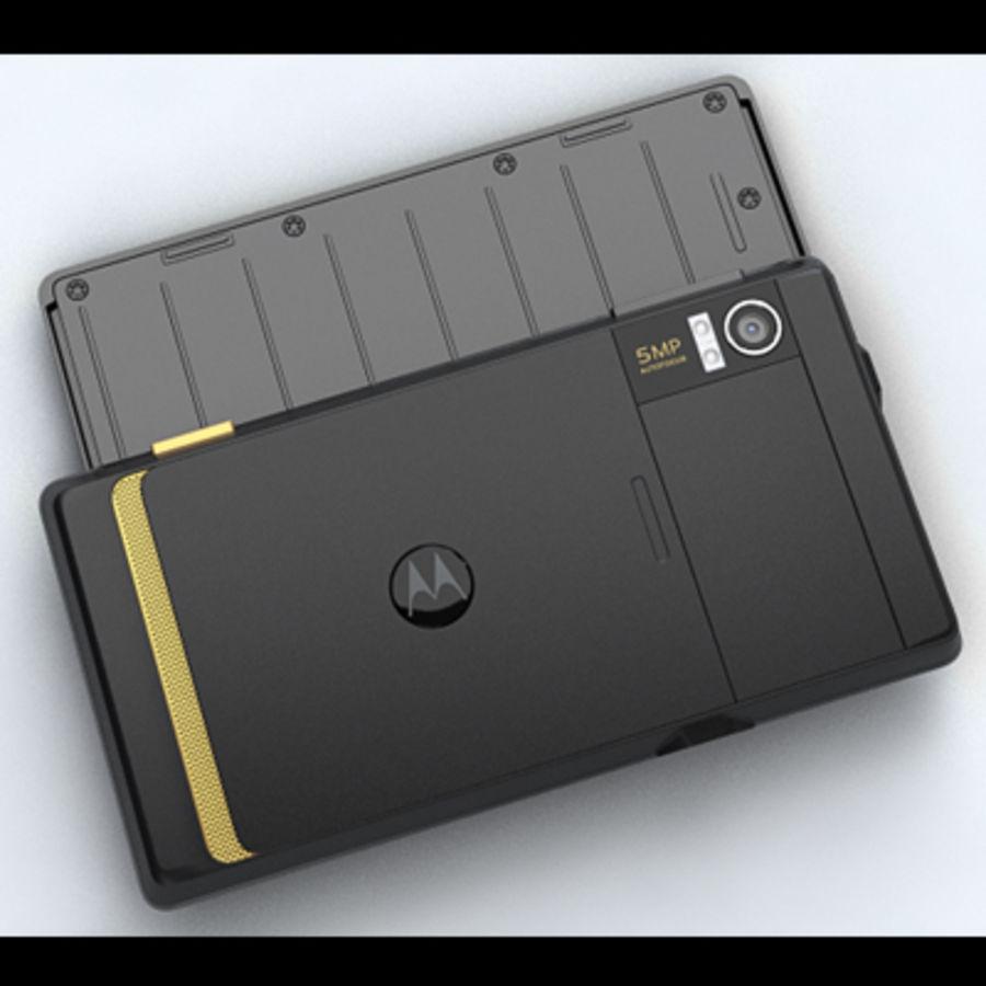 Motorola Milestone royalty-free 3d model - Preview no. 18