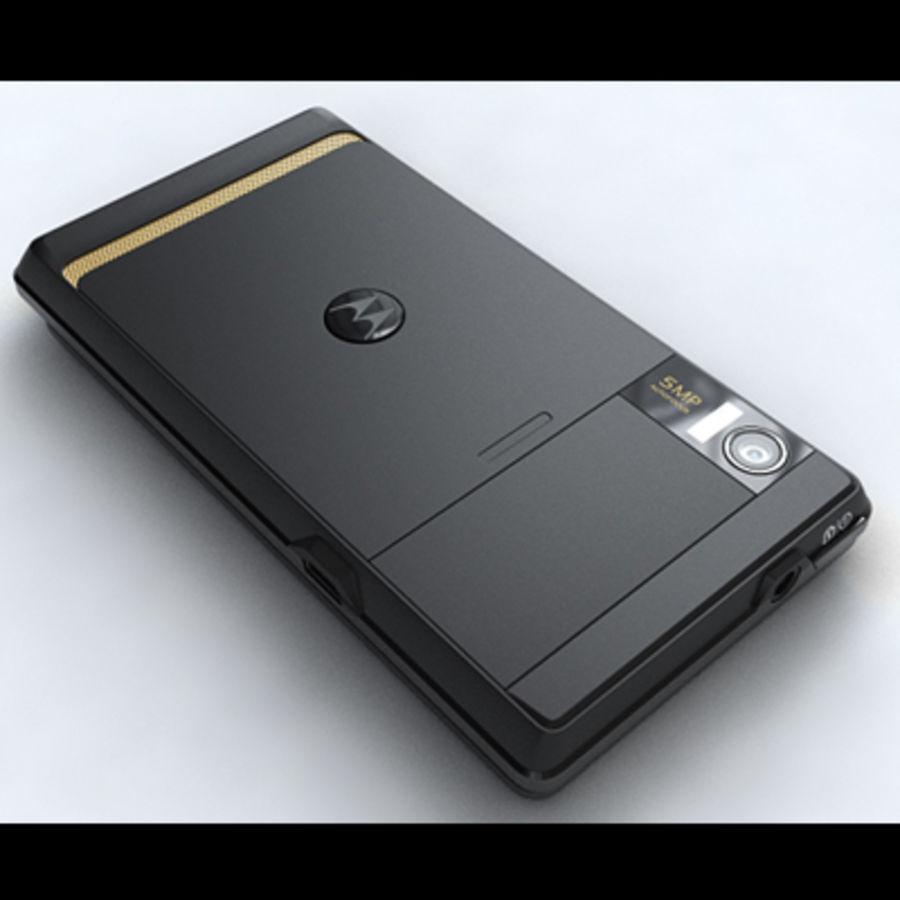Motorola Milestone royalty-free 3d model - Preview no. 22