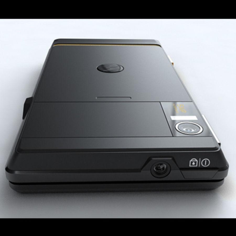 Motorola Milestone royalty-free 3d model - Preview no. 20