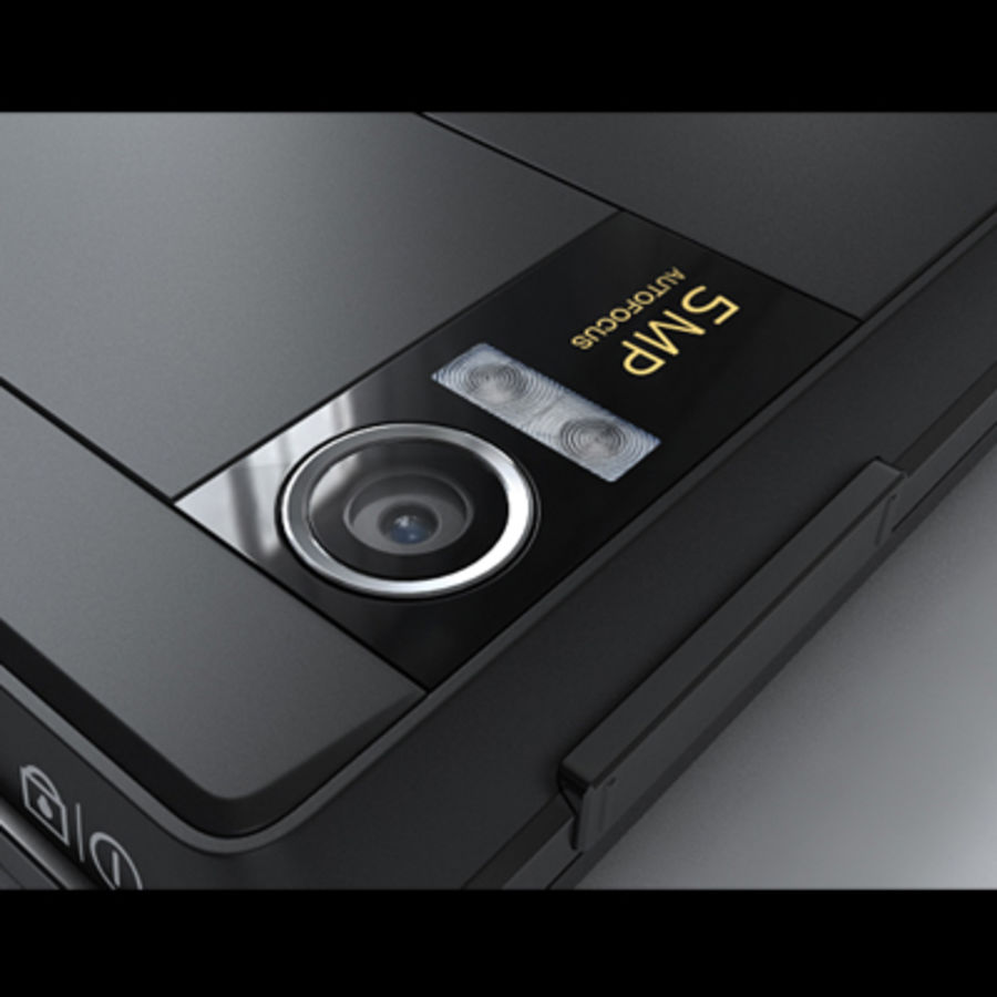 Motorola Milestone royalty-free 3d model - Preview no. 32