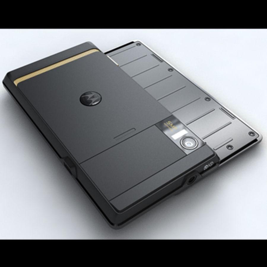 Motorola Milestone royalty-free 3d model - Preview no. 14