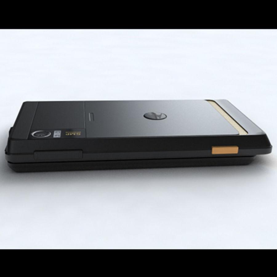 Motorola Milestone royalty-free 3d model - Preview no. 23