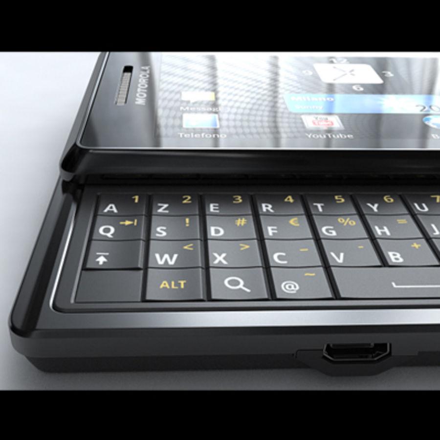 Motorola Milestone royalty-free 3d model - Preview no. 27