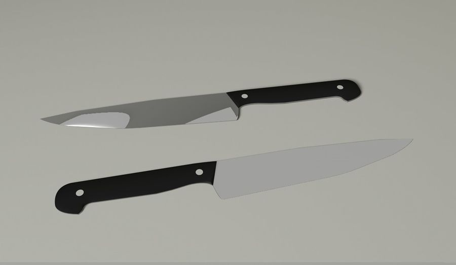 Kniv royalty-free 3d model - Preview no. 2