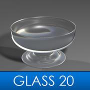 Glass 20 3d model