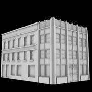 Старое Офисное Здание 3d model
