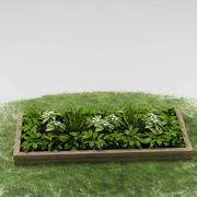 R_garden_plants_03 3d model