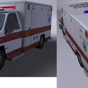 ambulancia c4d.rar 3d model