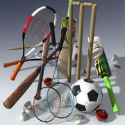 Pack de sport 3d model